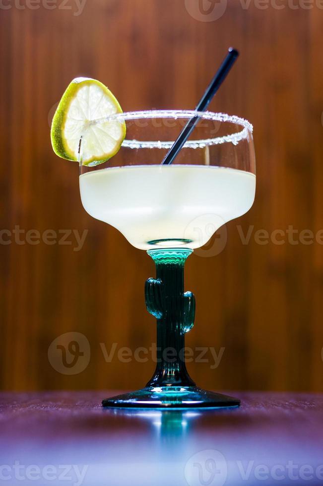 lange Cocktail Tequila Margarita foto