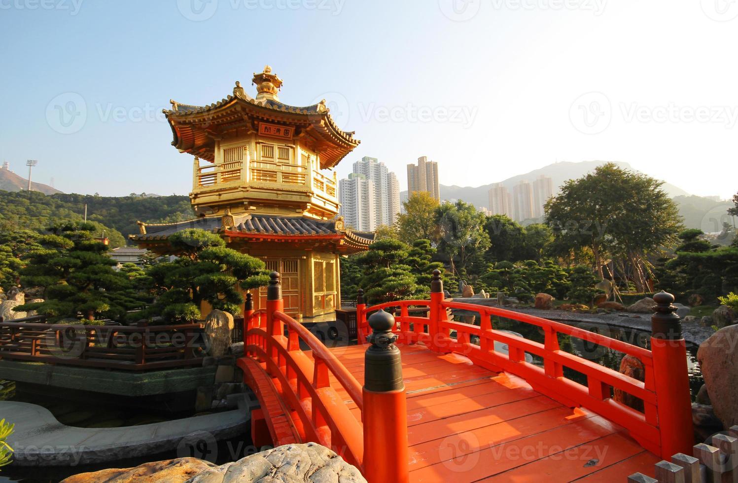 der pavillon nan lian garten hong kong foto