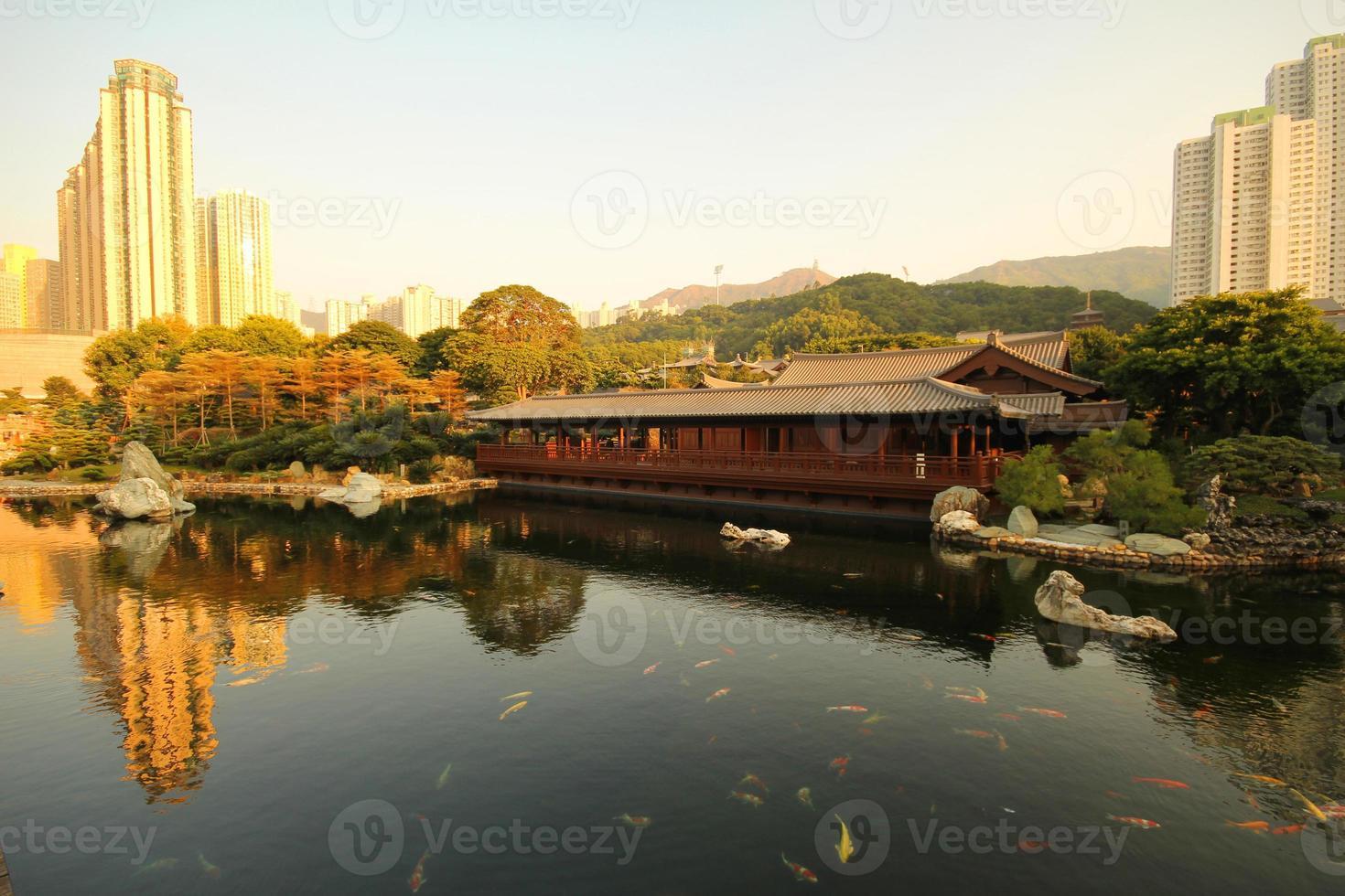 Chi Lin Nonnenkloster und Nan Lian Garten foto