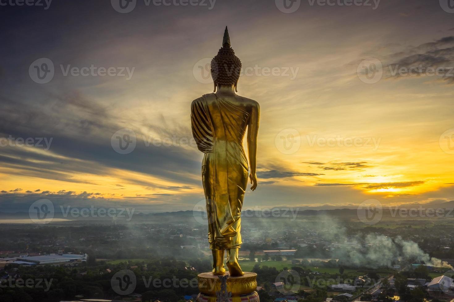 Wat Phra, dass Kao Noi Nan, Thailand. foto