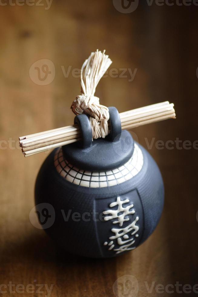 japanische Vase foto