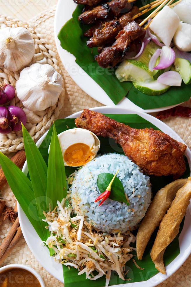 malaiisches Reisgericht foto