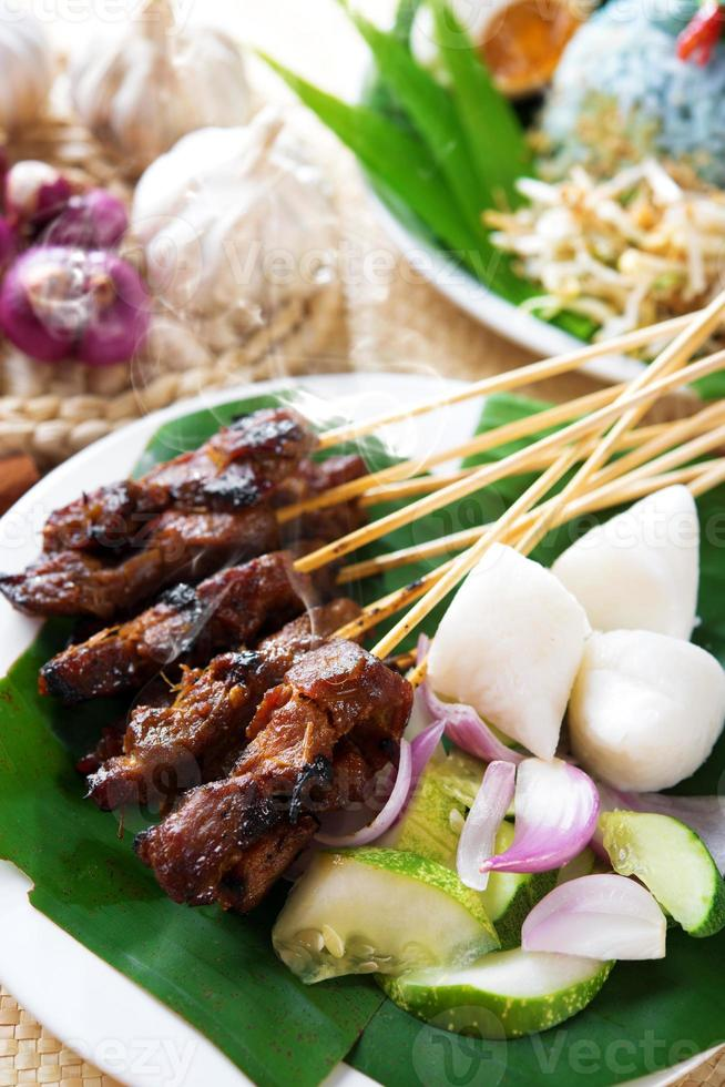 Satay Daging. foto