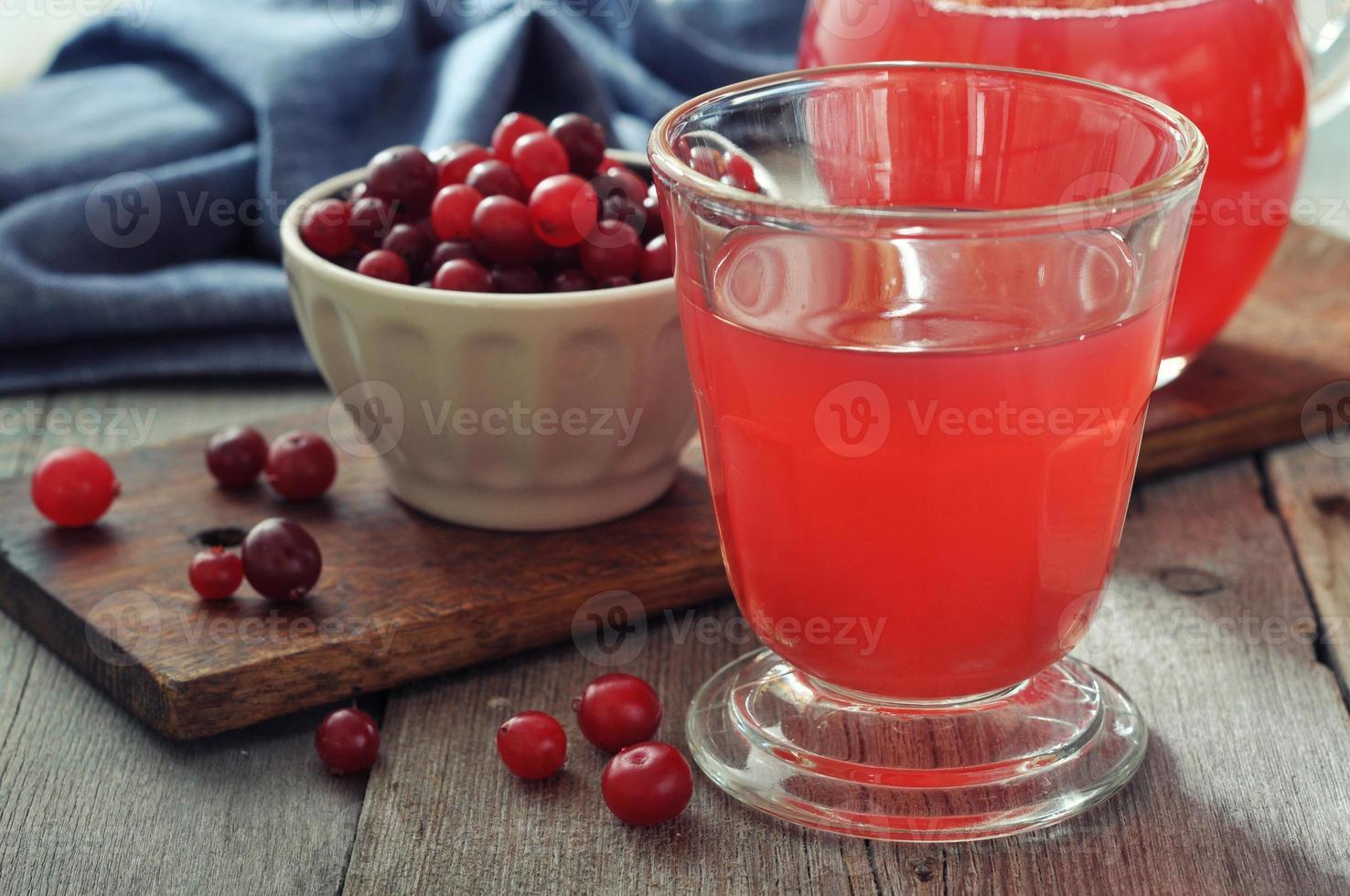 Cranberrysaft foto