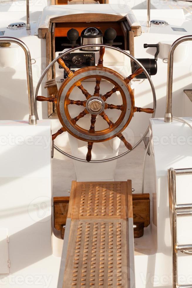 Lenkradschiff foto