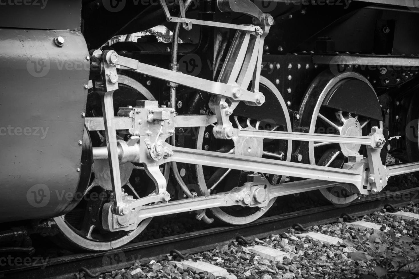 Vintage Zug, Zugrad foto