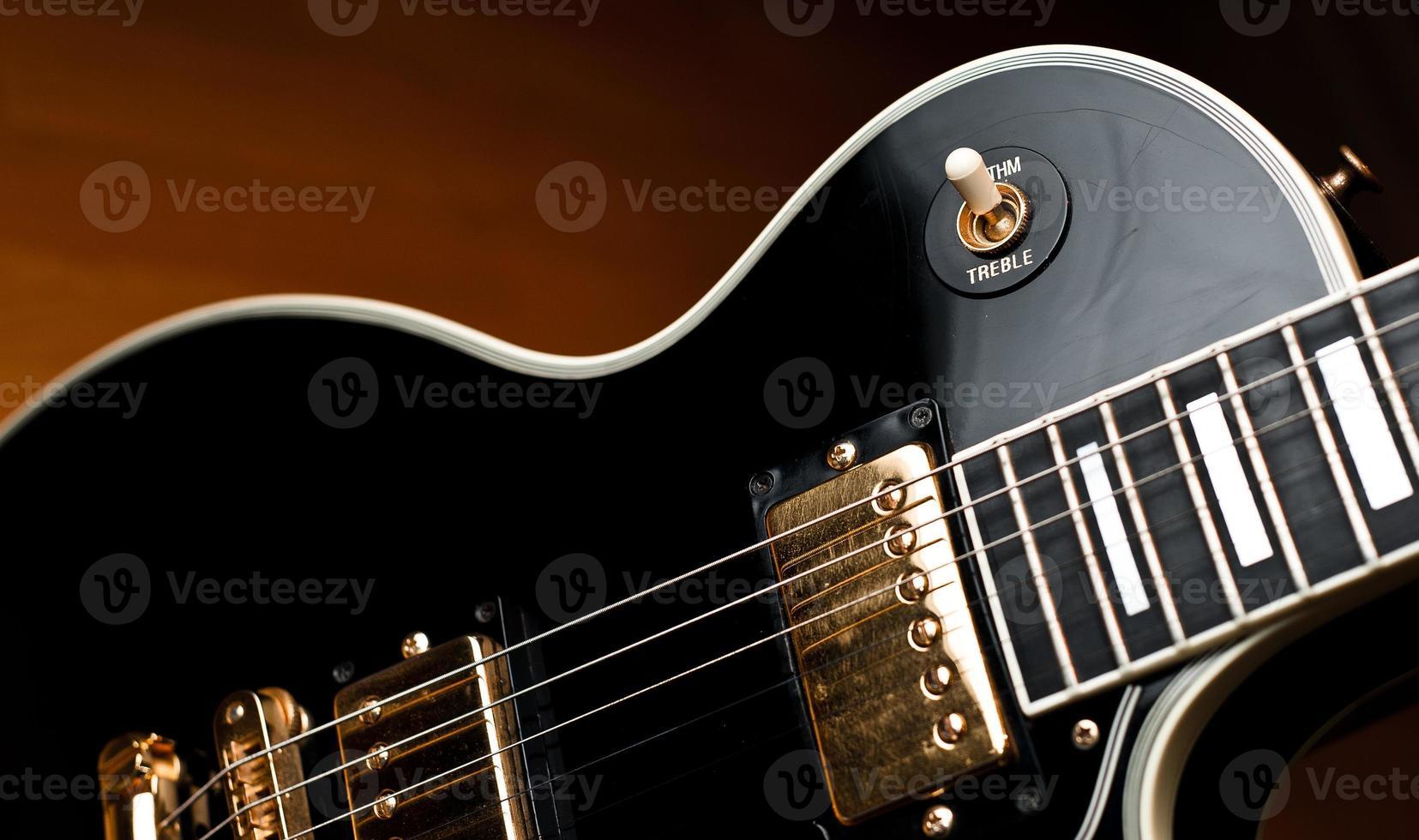 klassische Rock'n'Roll-Gitarre. foto