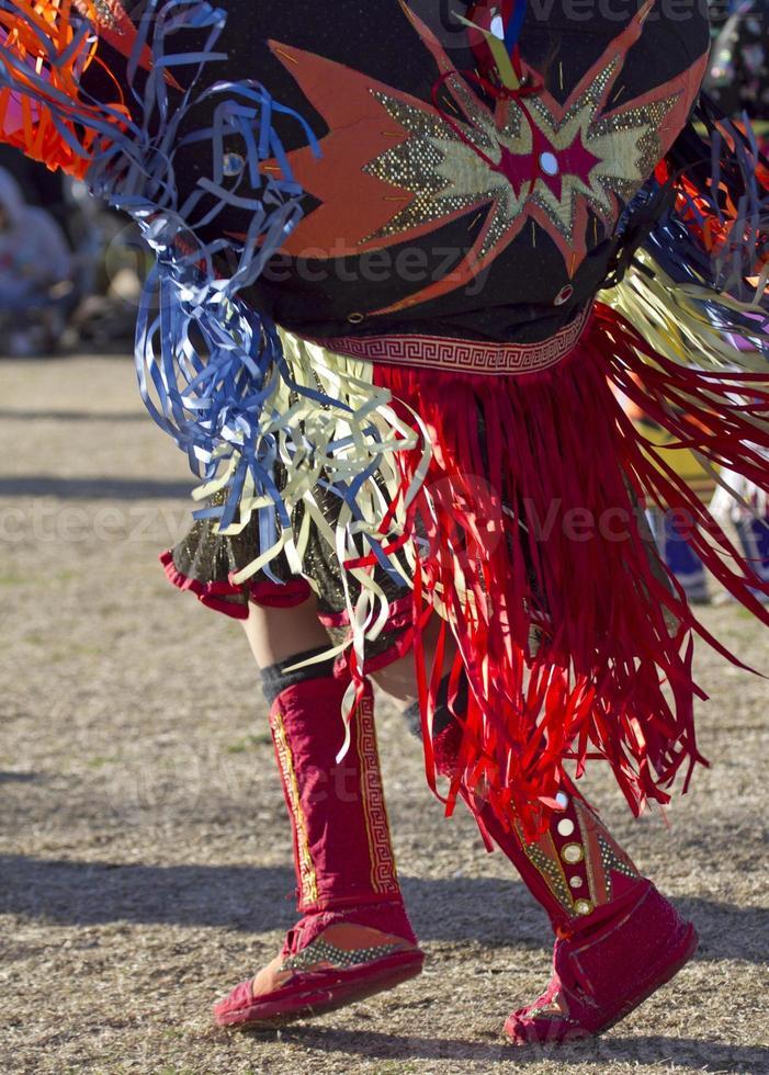 Native American Fancy Tänzer foto