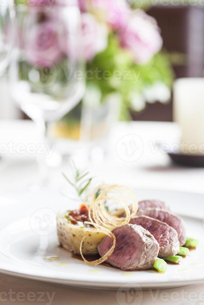 Rindfleischmedaillons foto