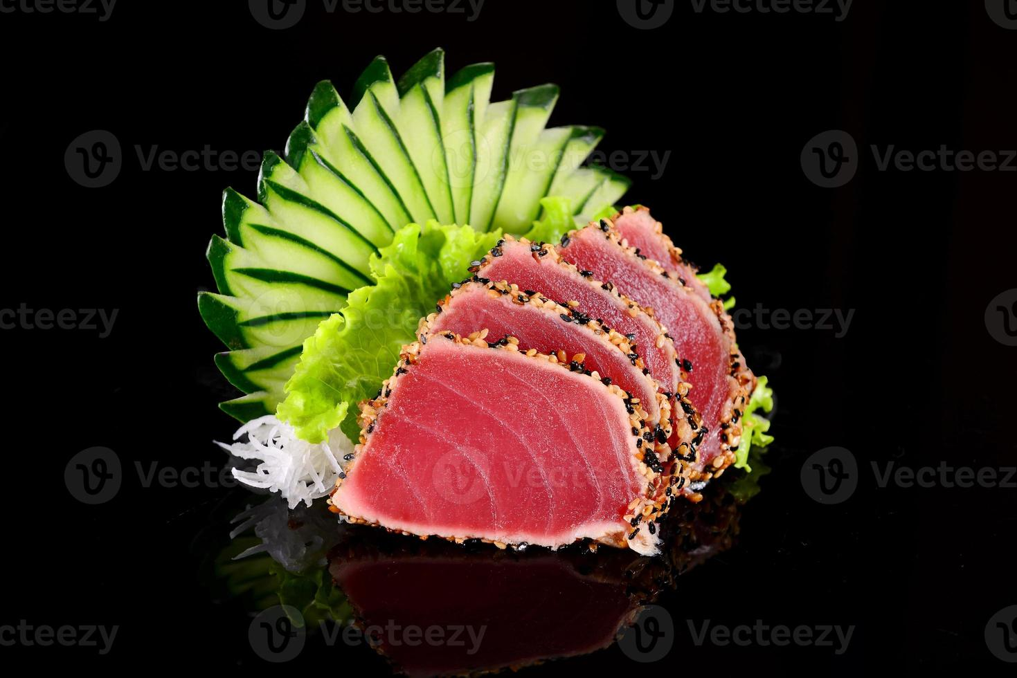 Thunfisch-Sashimi foto