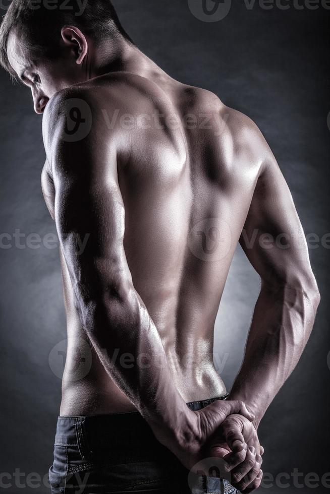 sportlicher Mann foto