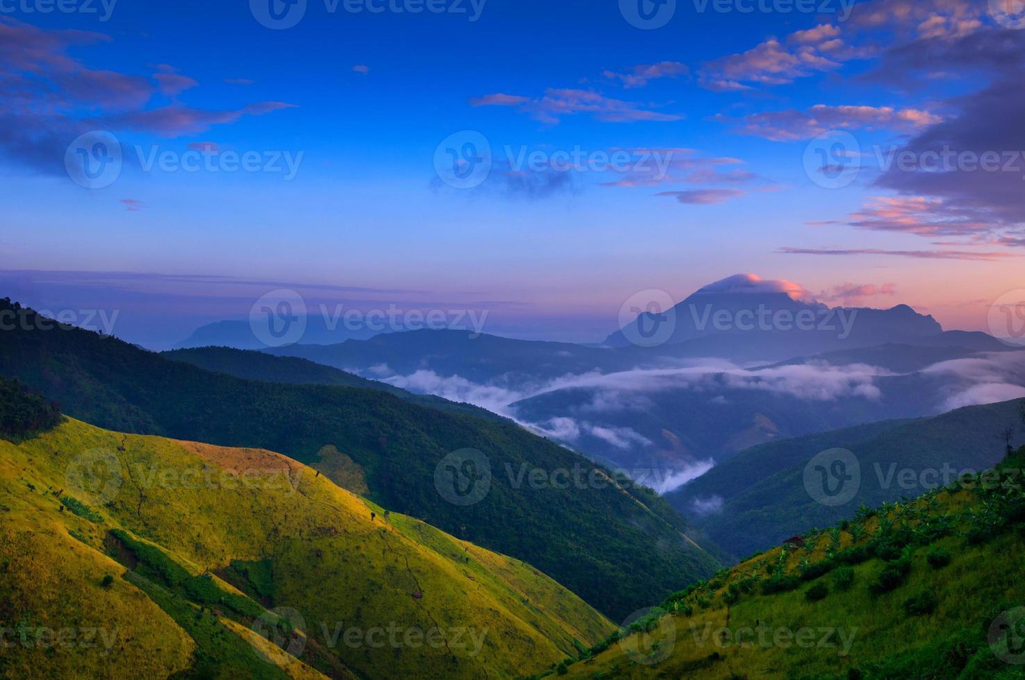 Landschaft von Luang Prabang, Laos foto