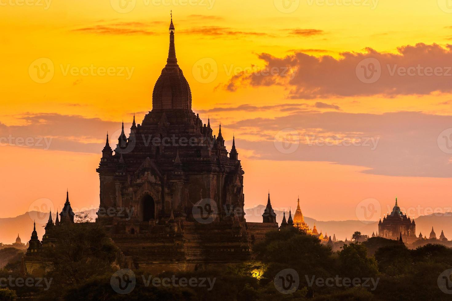 Bagan, Myanmar. foto