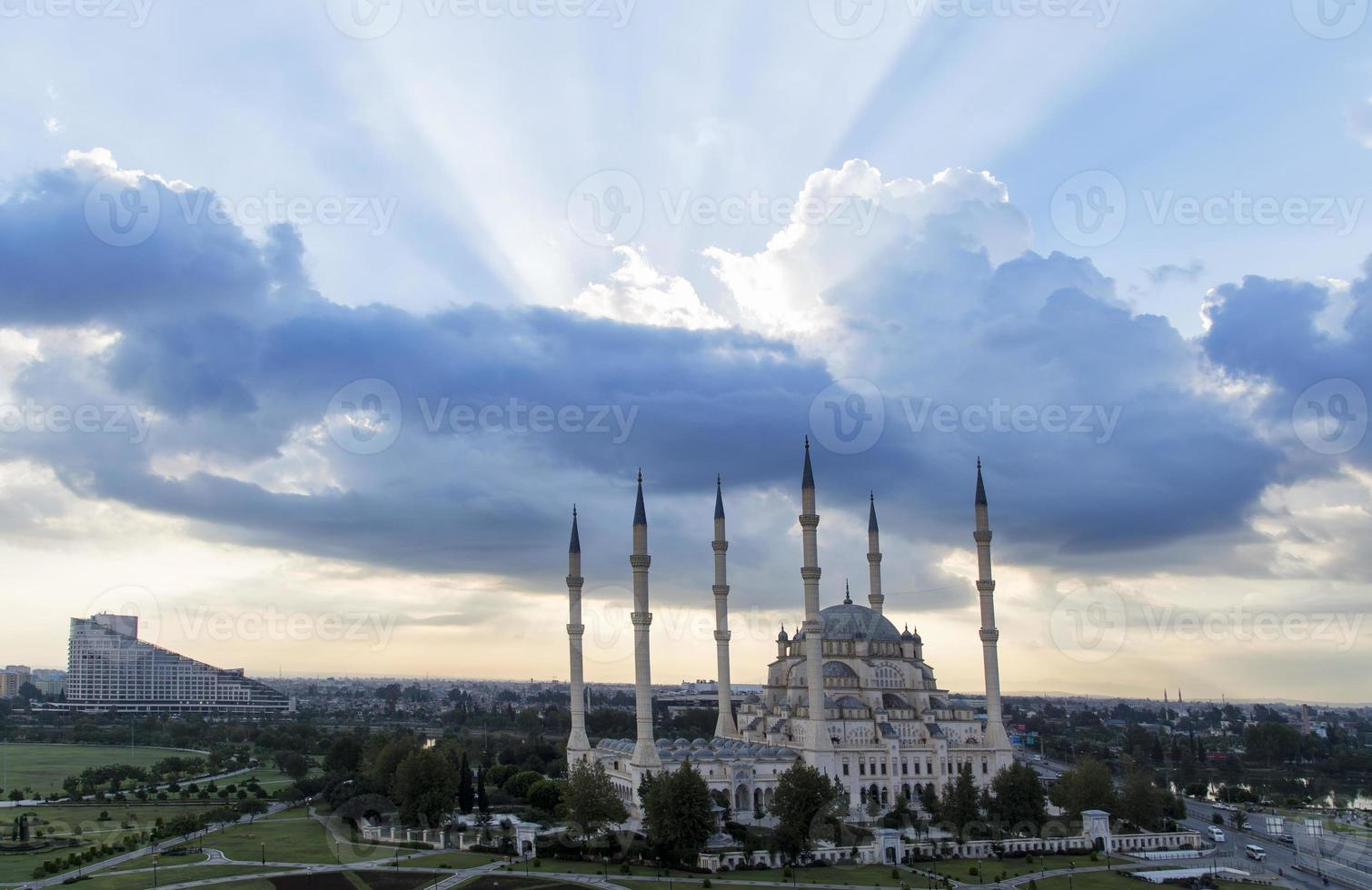 Zentralmoschee in Adana Truthahn foto