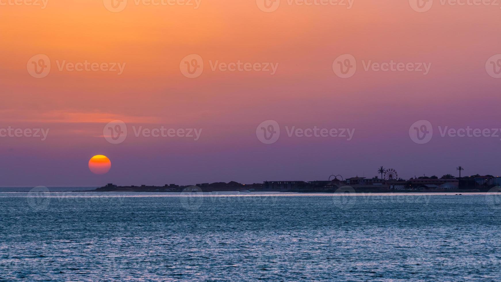 Dakar Sonnenuntergang foto