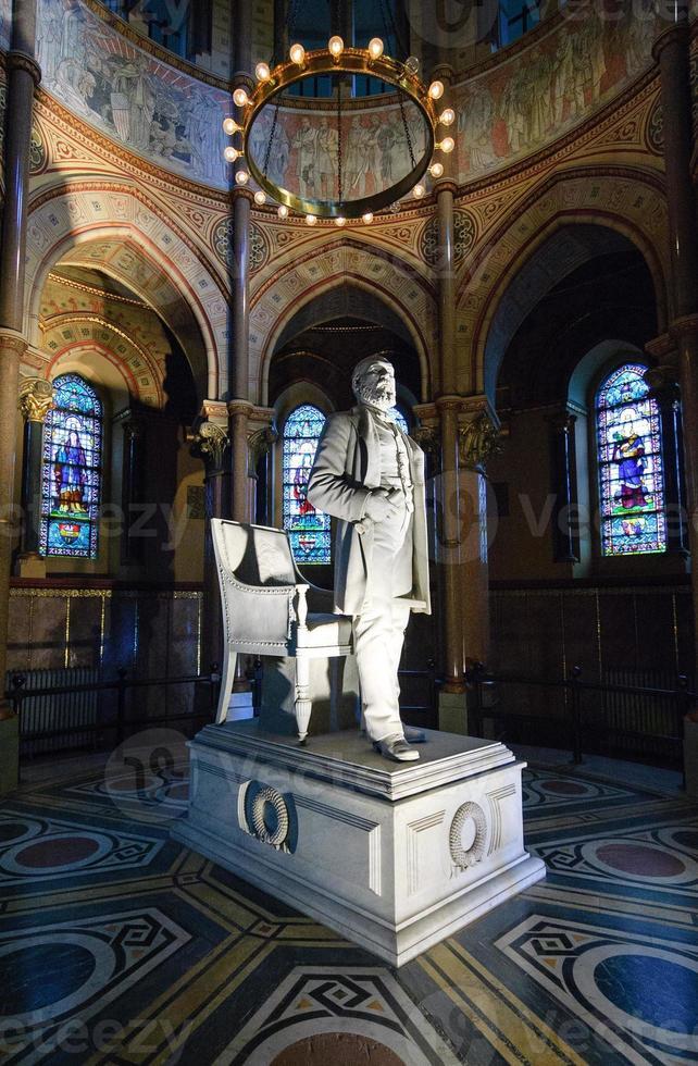 James a. Garfield Denkmal foto