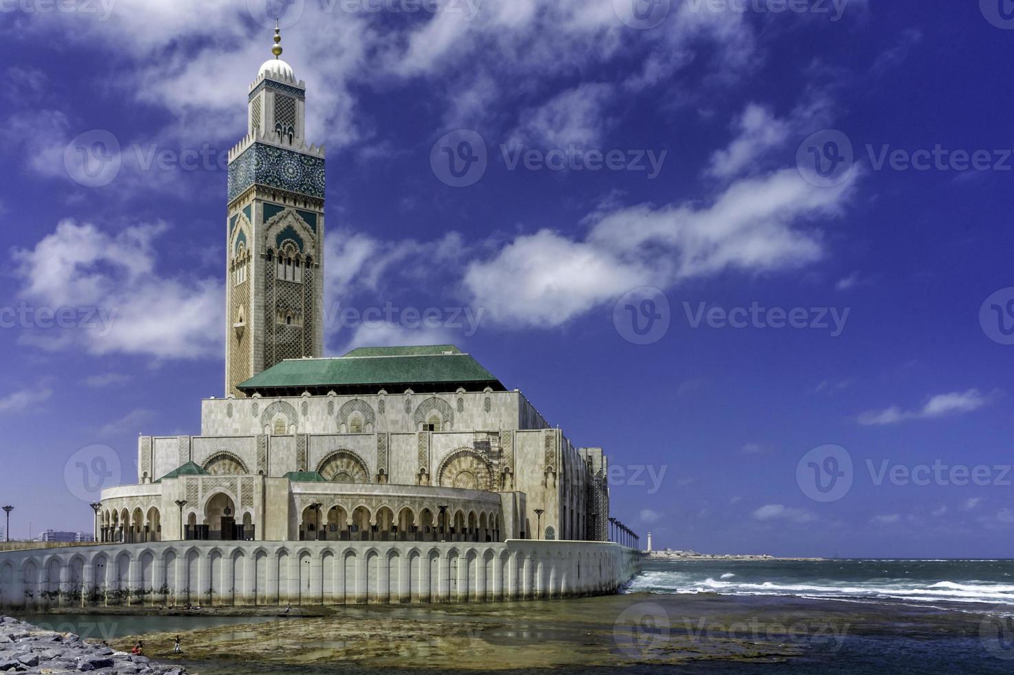 Casablanca Moschee foto