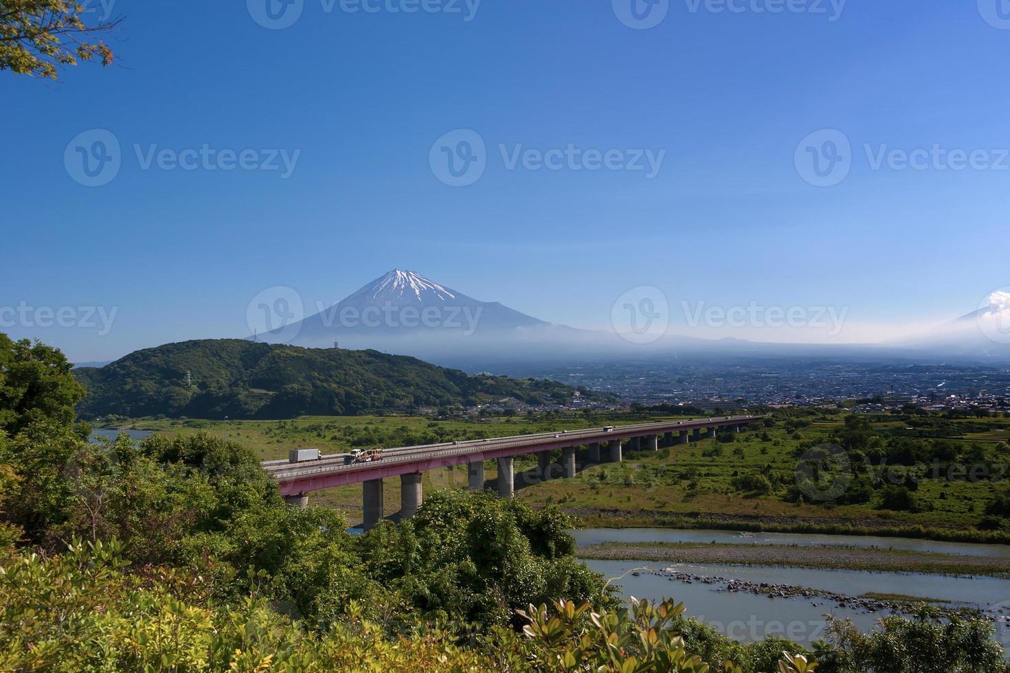 schöne mt. Fuji aus Shizuoka Präf. foto