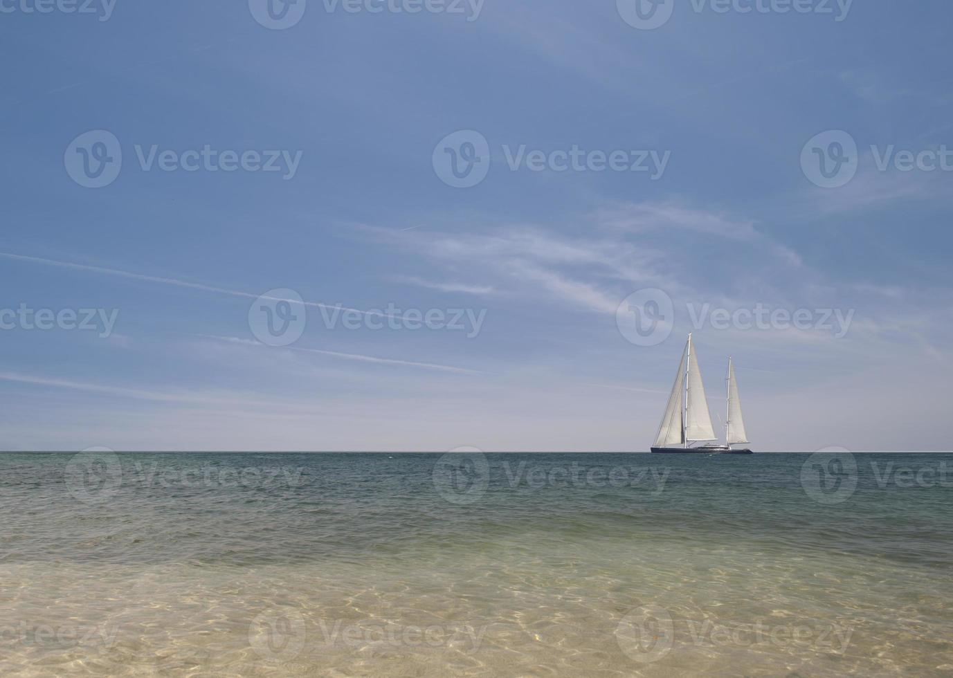 Urlaub im Segelboot foto