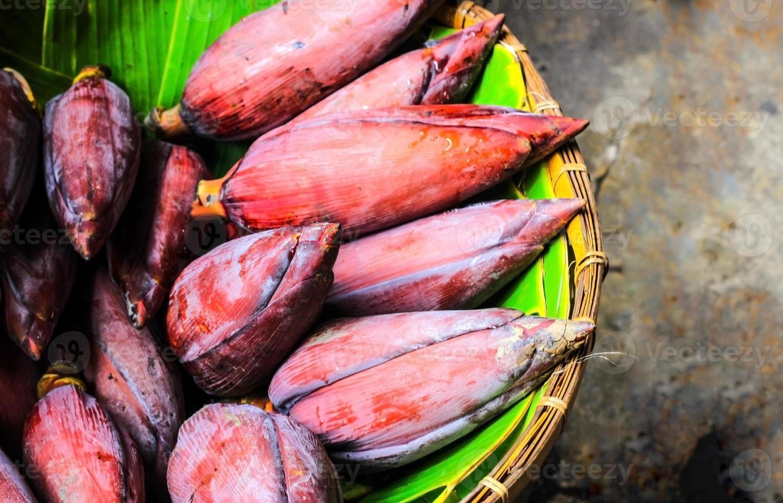 Bananenblüte oder Blumen foto