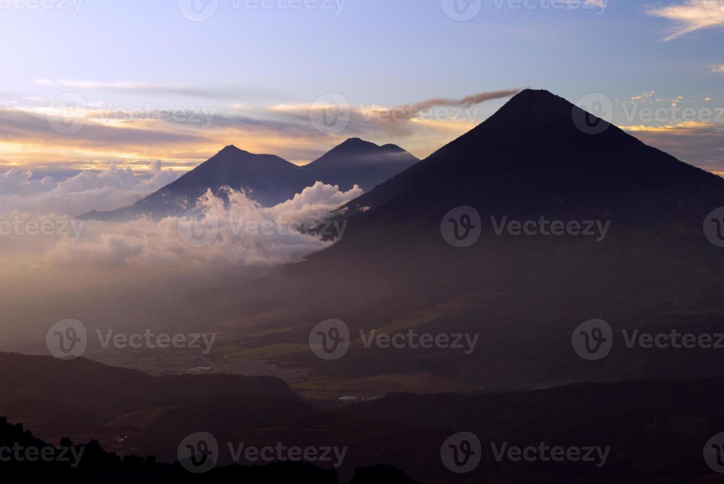 guatemaltekische Vulkane foto