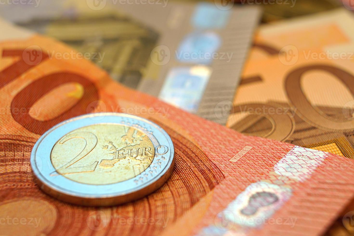 Geld auf Geld foto