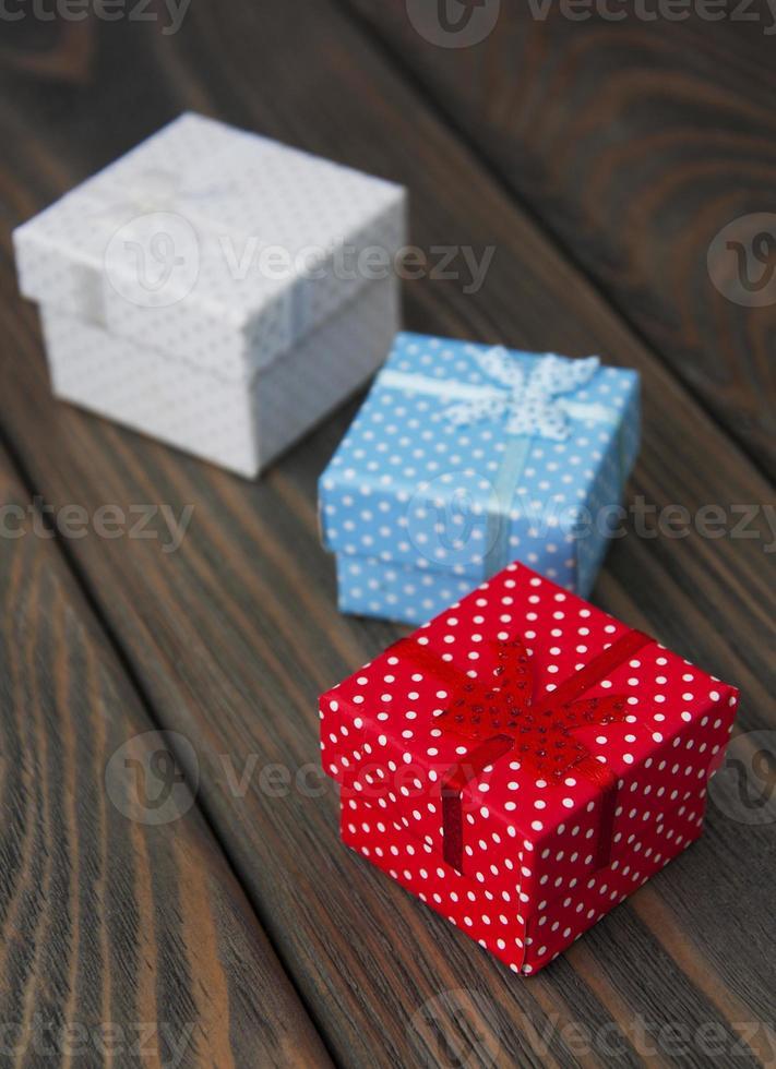 Vintage Geschenkboxen foto