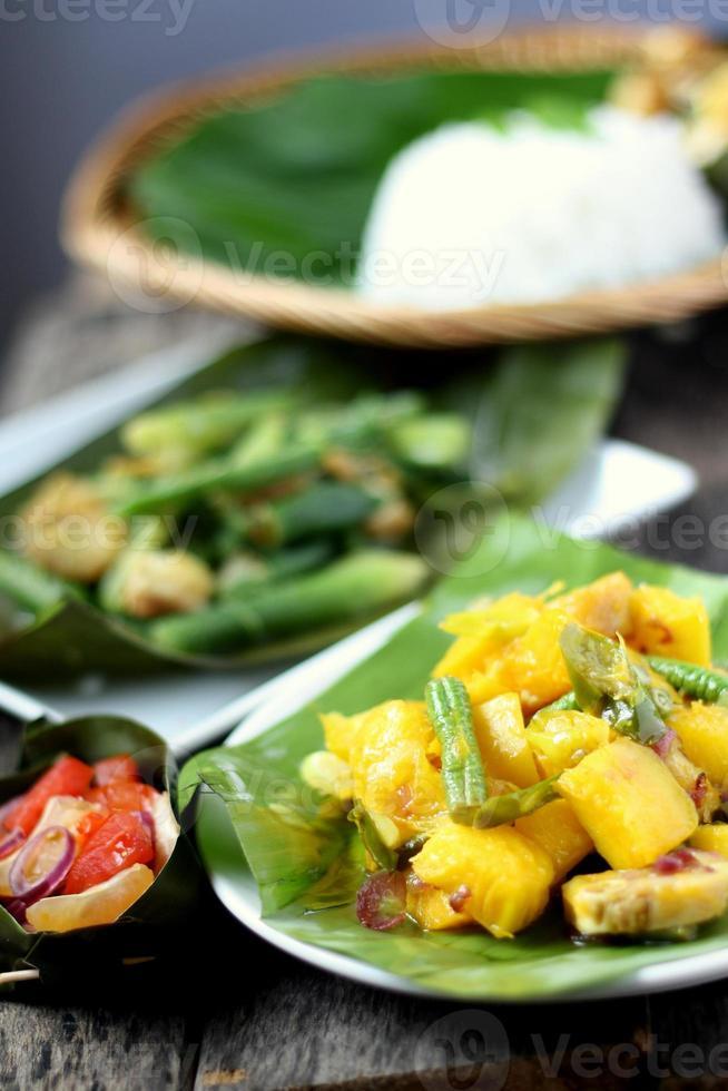 Kadazandusun Stamm traditionelle Delikatessen foto