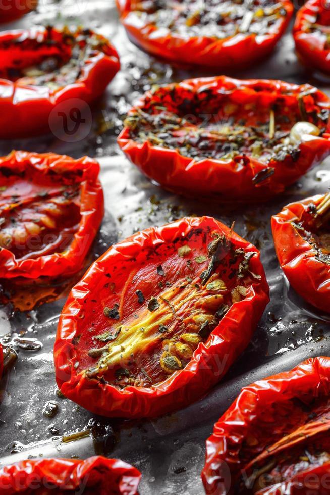 sonnengetrocknete Tomaten foto