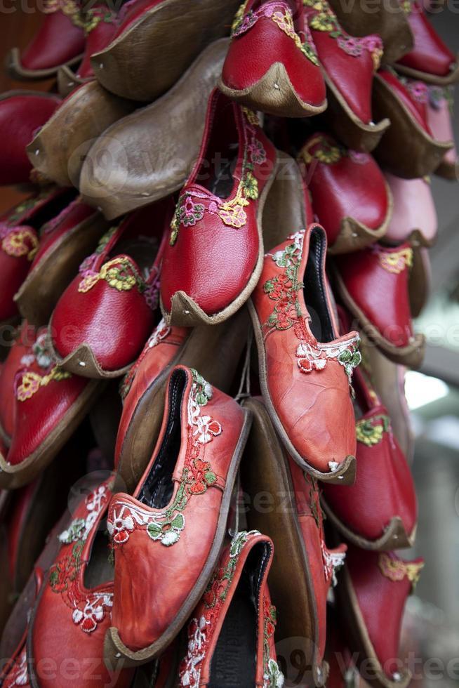 traditionelle türkische Schuhe foto