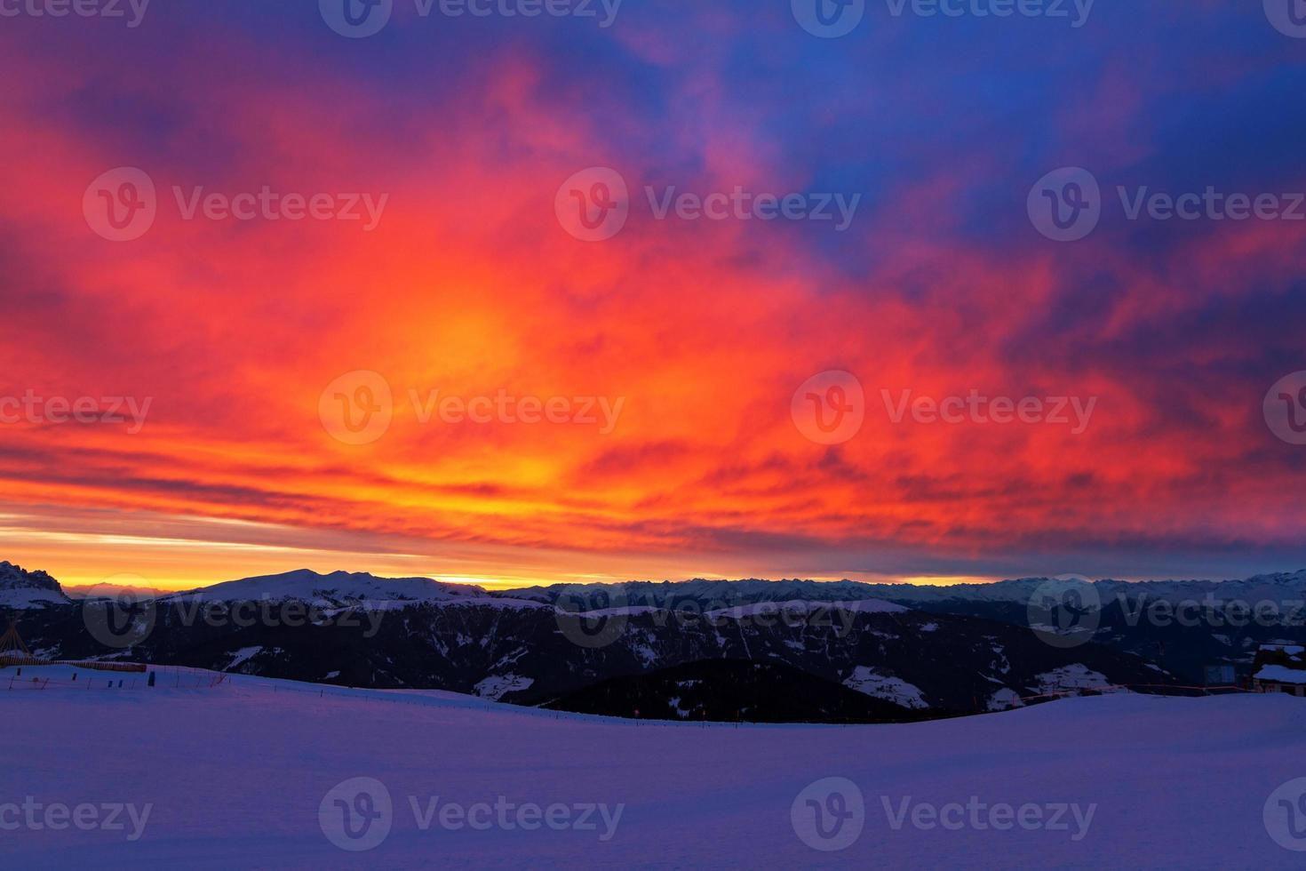 Sonnenuntergangsfeuer foto