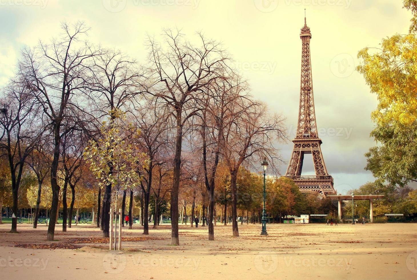 Eiffelturm Paris foto