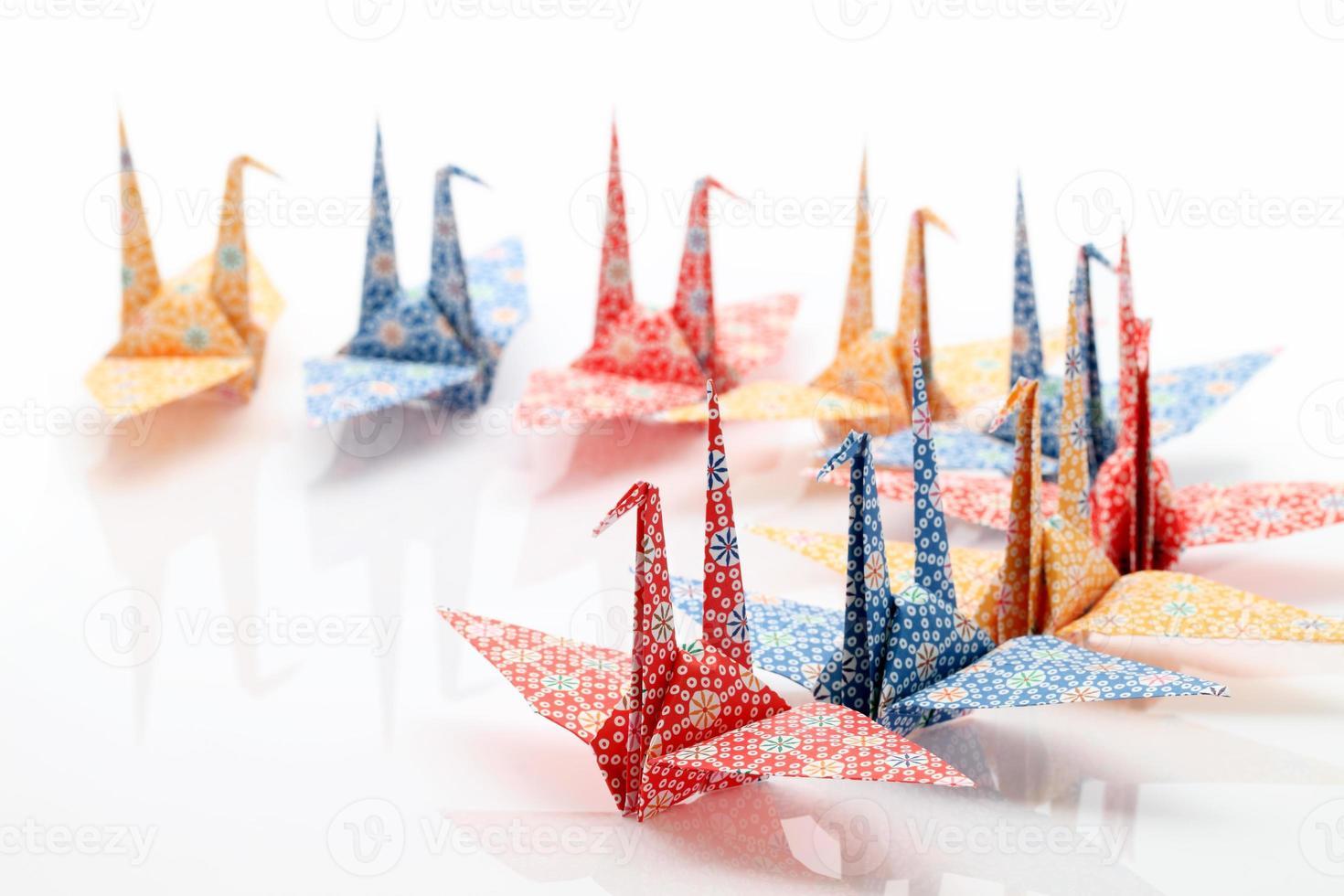 Origami-Vögel foto