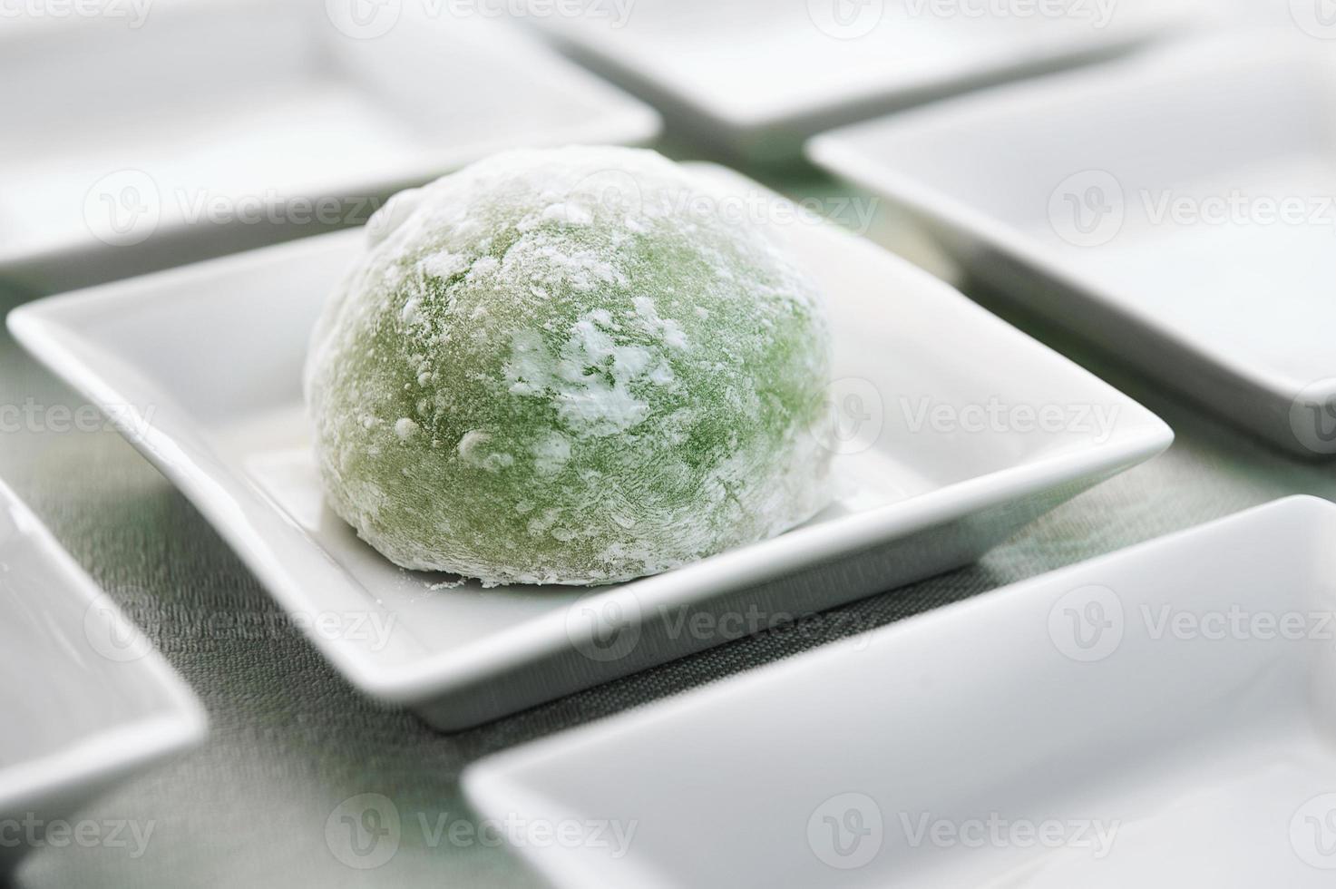 grüner Tee Mochi foto