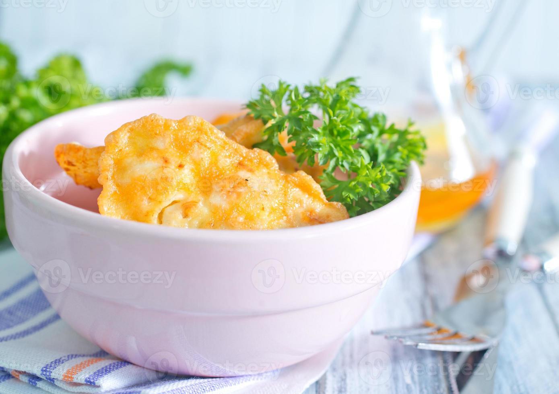Hühnerschnitzel foto