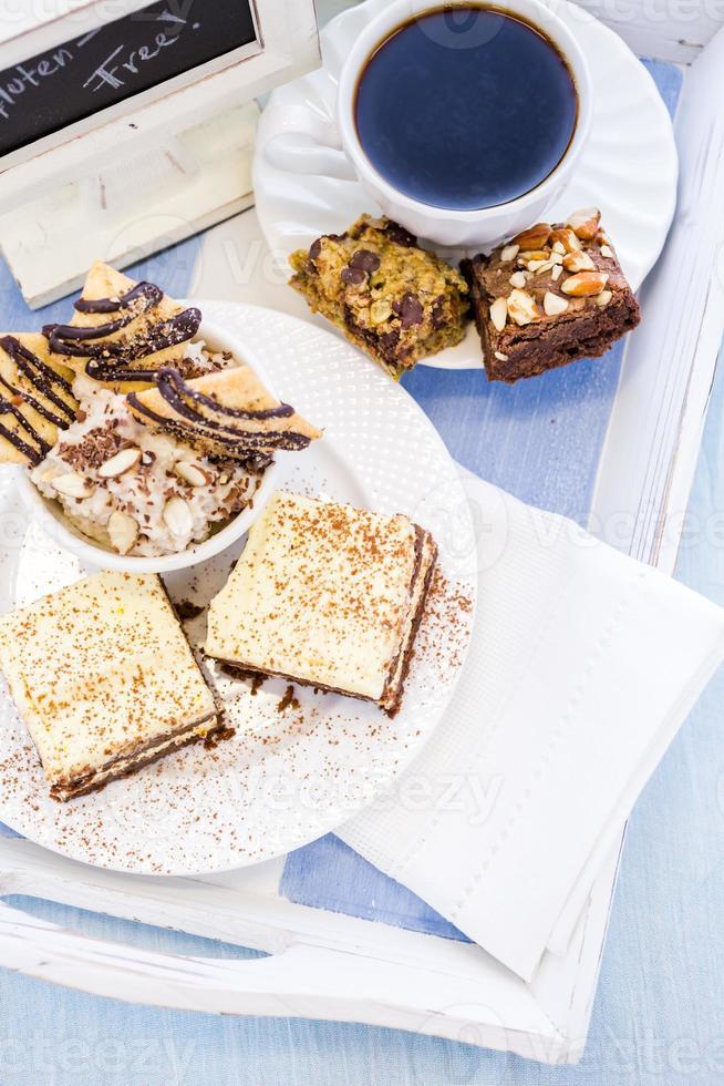 glutenfreies Dessert foto