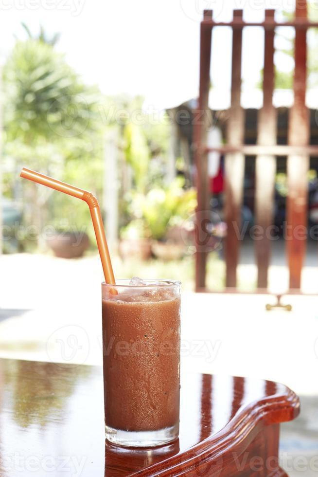 Kakao kühle heiße Luft foto