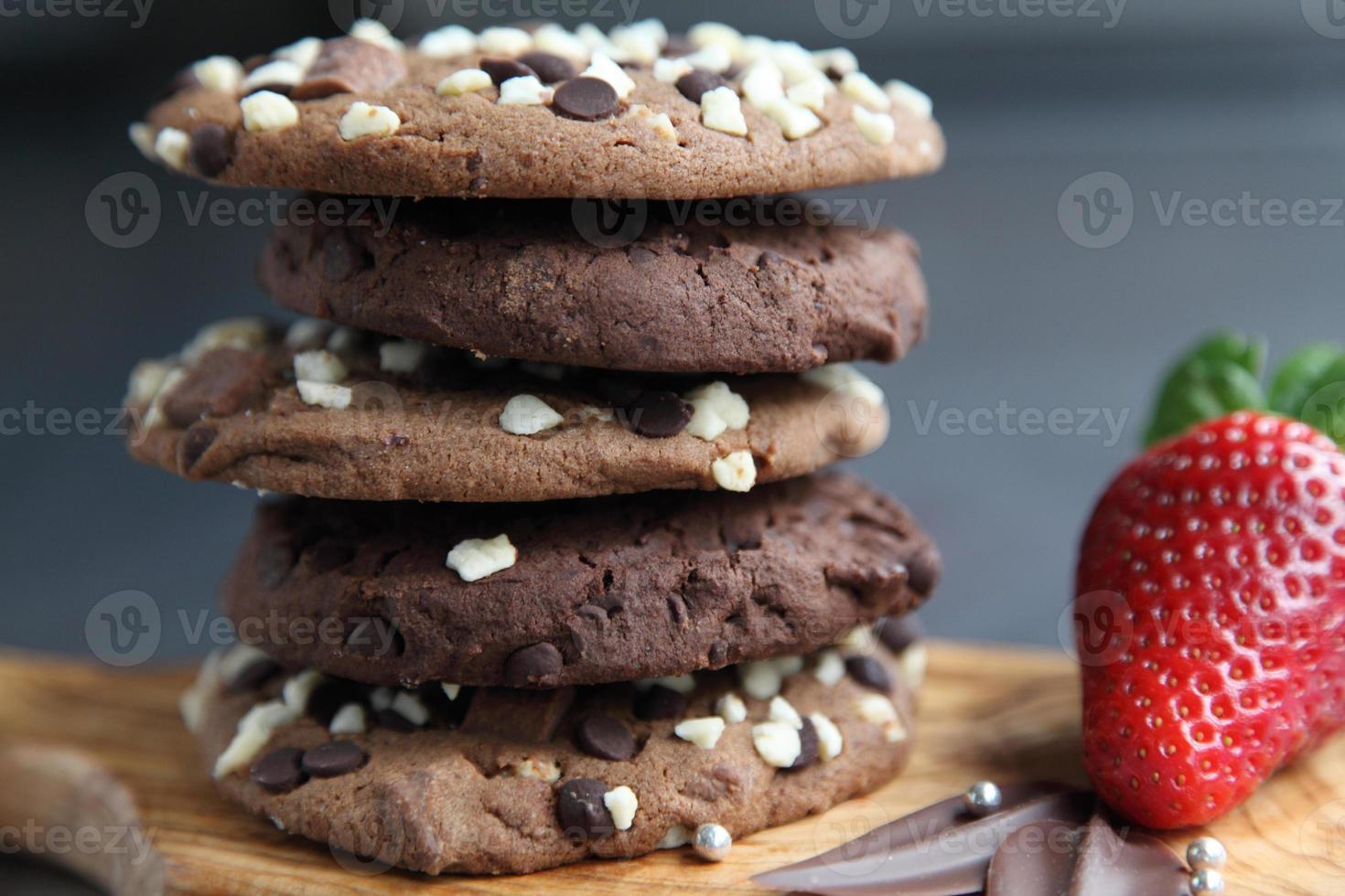 dekadente Schokoladenkekse foto