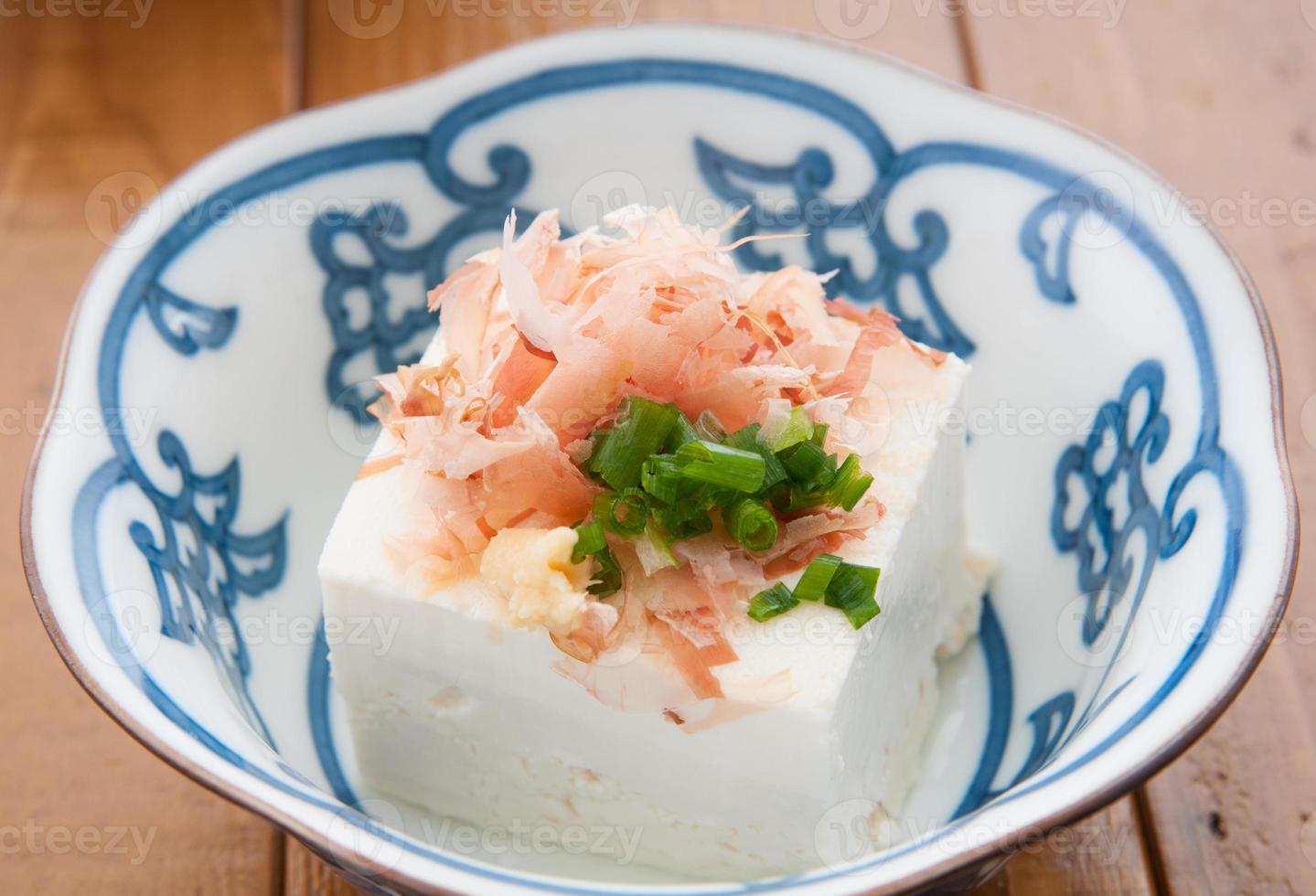 japanische Küche, Hiyayakko foto