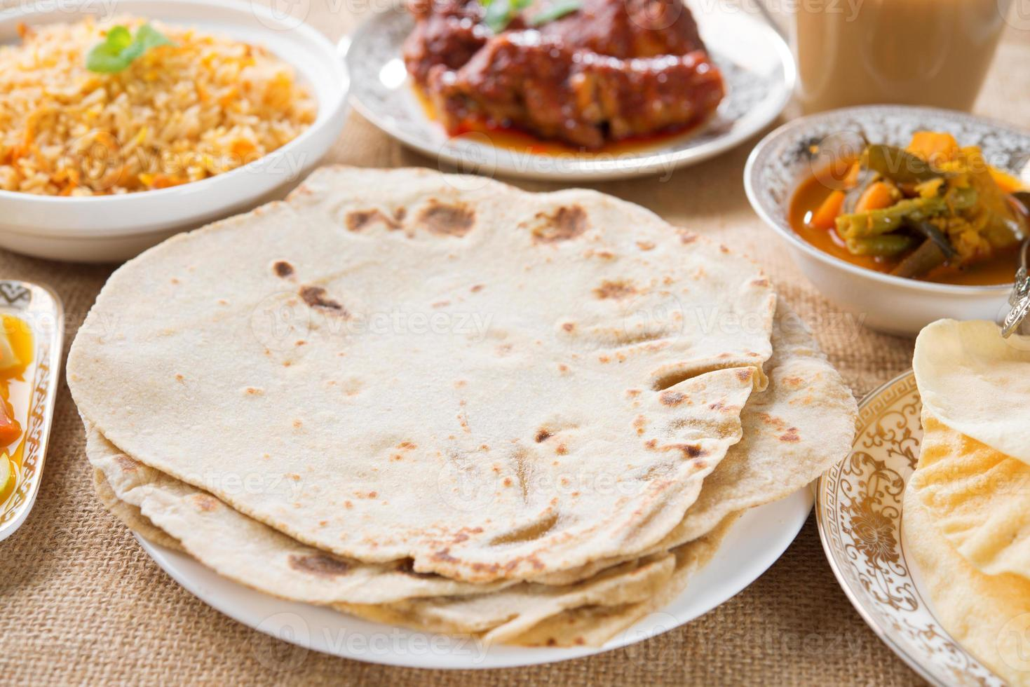 Chapatti Roti foto