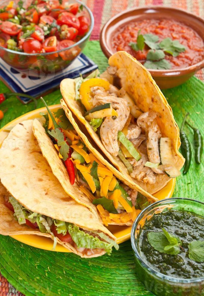 traditionelles mexikanisches Essen foto
