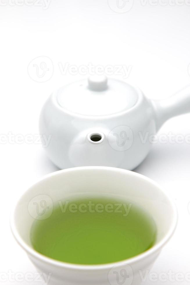 japanischer Tee foto