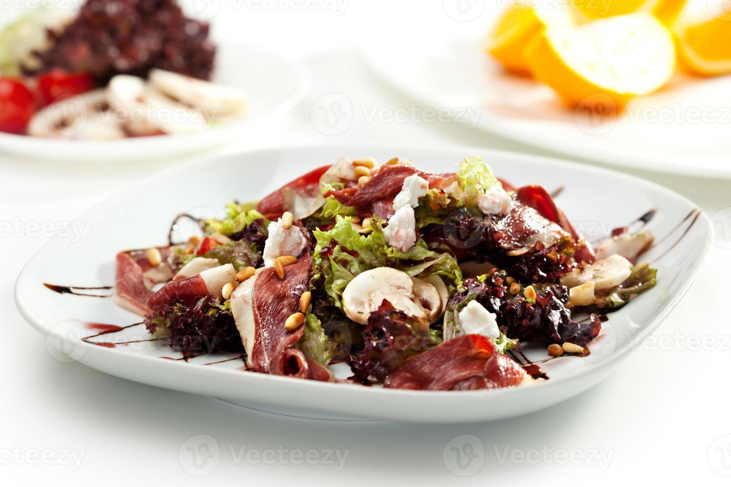 warmer Salat foto