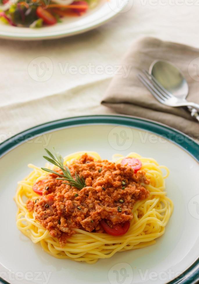 Pasta Spaghetti foto