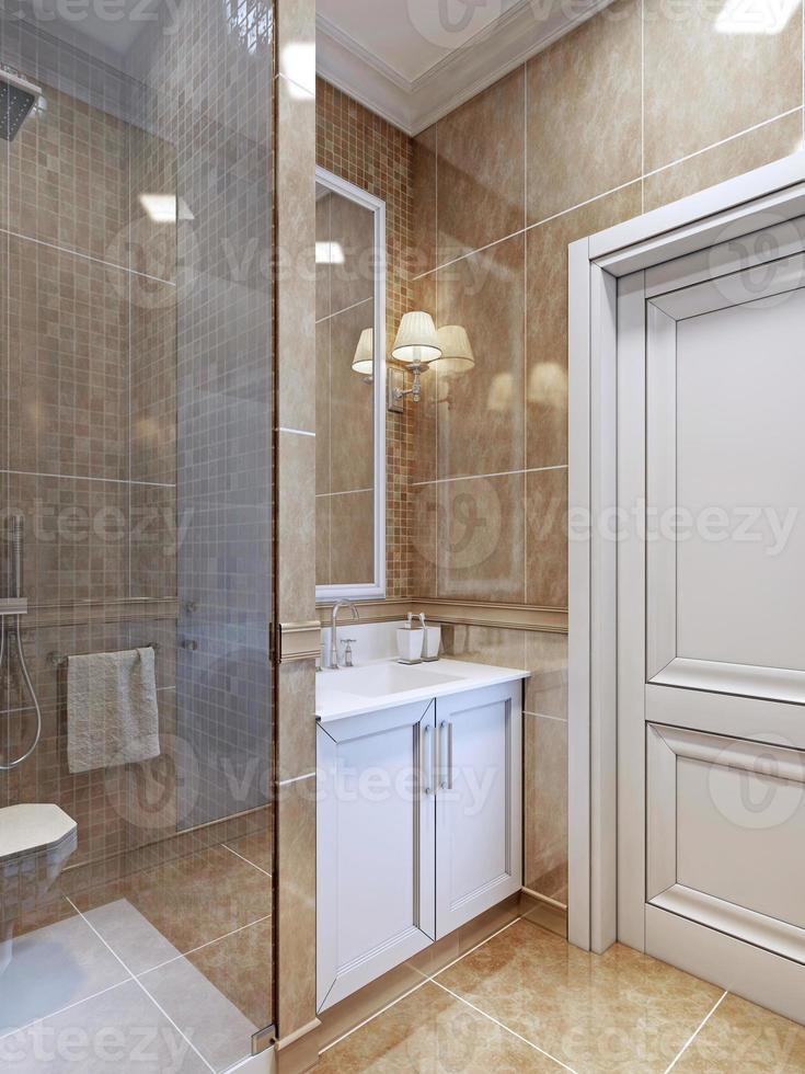 kleiner Badezimmertrend foto