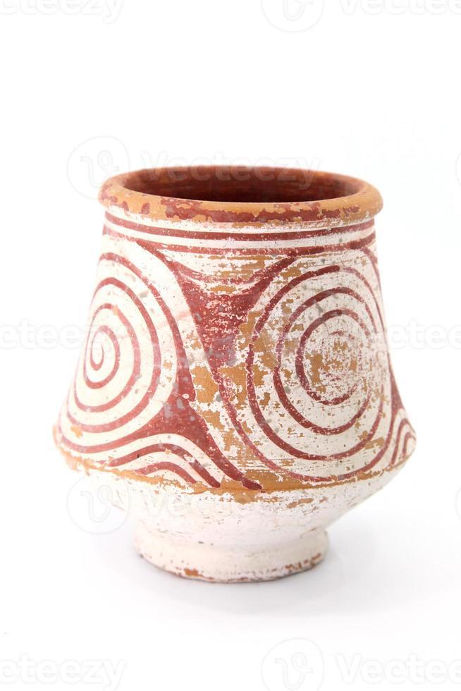 alte Keramik von Ban Chiang, Udon Thani Thailand foto