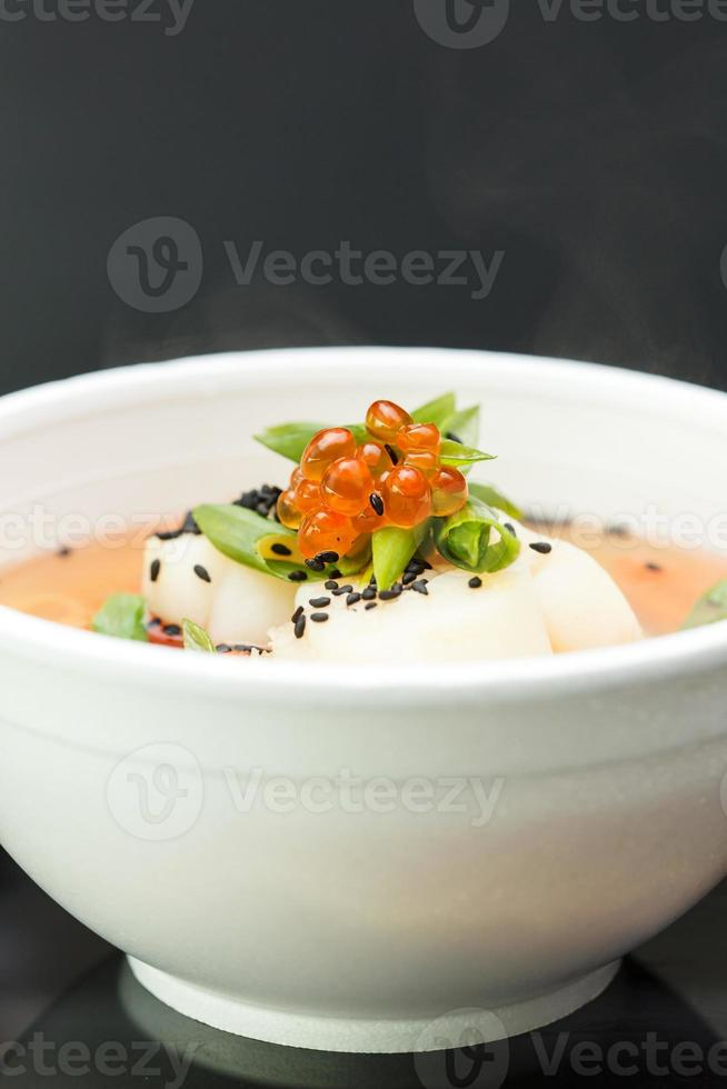 japanische Suppe foto