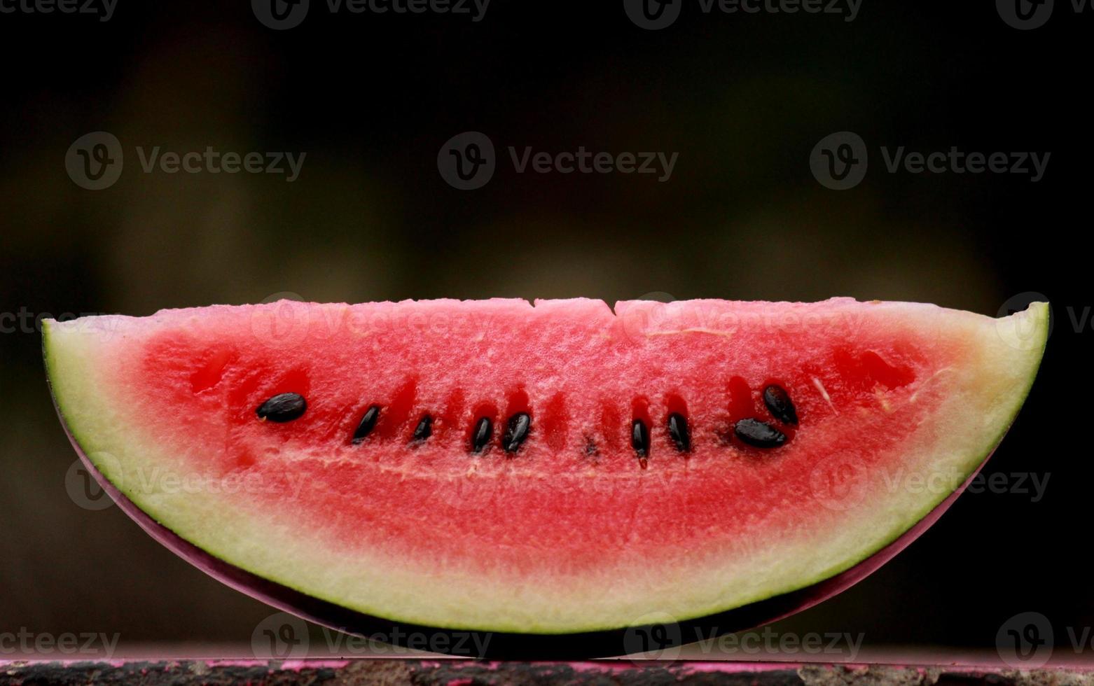 Wassermelonenscheibe foto