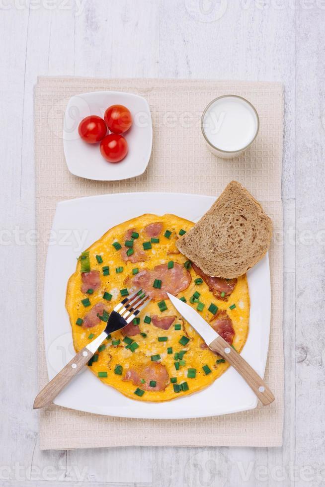 frisches Omelett foto