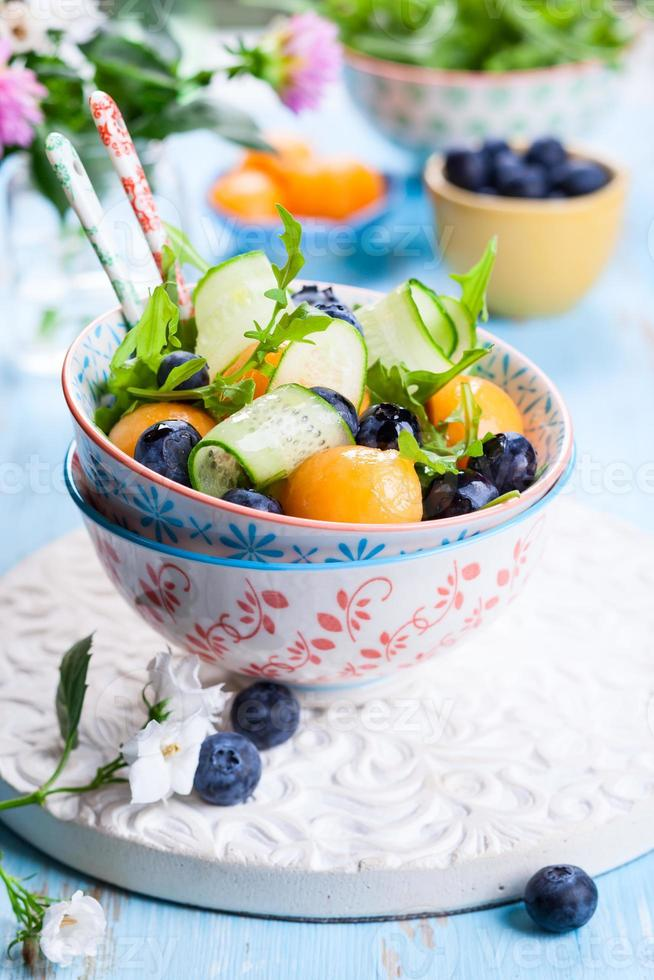Melonensalat foto